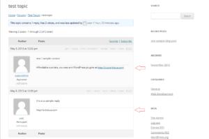 Orbisius bbPress Signature WordPress Plugin screenshot-1