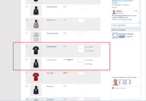 Quick Order for WooCommerce - Ordering Variable Products
