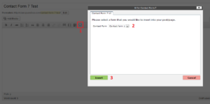 Contact Form 7 UI screenshot-2
