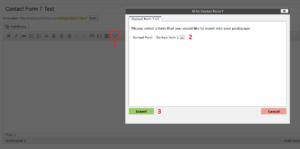 Contact Form 7 UI screenshot-2