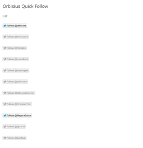 Orbisius Quick Follow screenshot-2