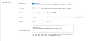 Orbisius CyberStore Ext: Style Order Form Screenshot1