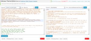 orbisius child theme creator pro improved editors