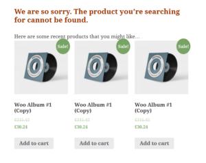 Orbisius Custom 404 Page for WooCommerce Demo
